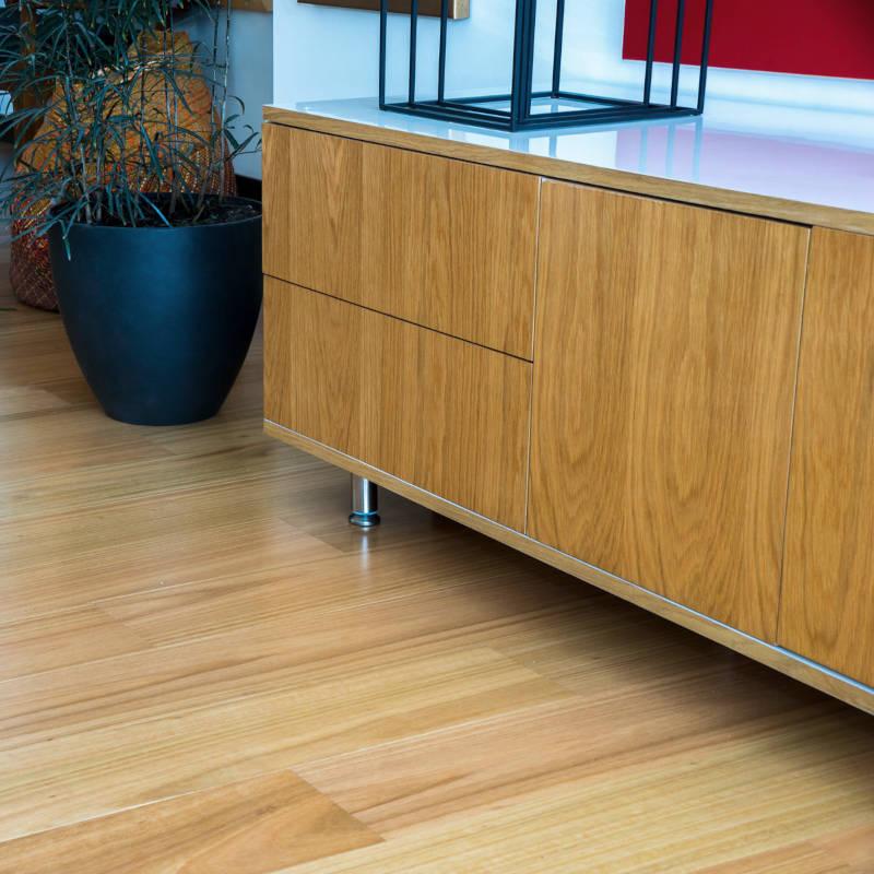 Piso de madera estructurado