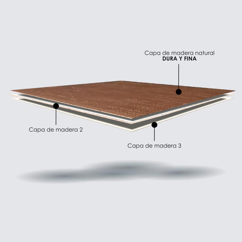Triplex madera
