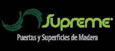 Logo Supreme Puertas en Madera